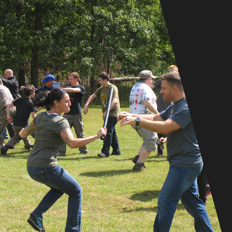 Survival Training at Zombie Survival Camp